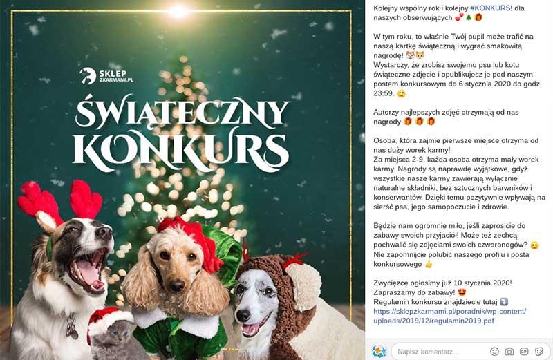 Świąteczny konkurs FB
