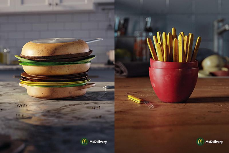 Kampania promocyjna Skip the dishes odMcDonald's