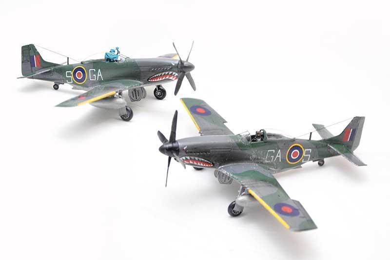 Modele samolotów.
