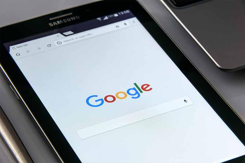 Wyszukiwarka Google.