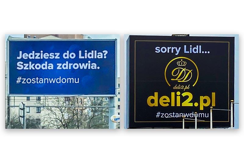 Kampania teaserowa Deli2.pl.