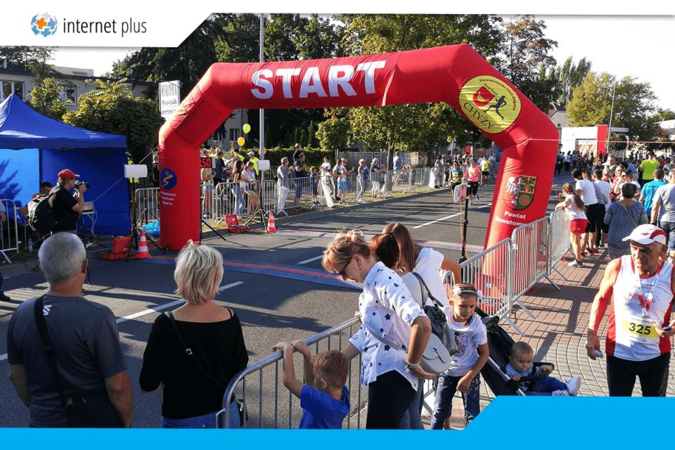 Start biegu Chyża Dziesiątka